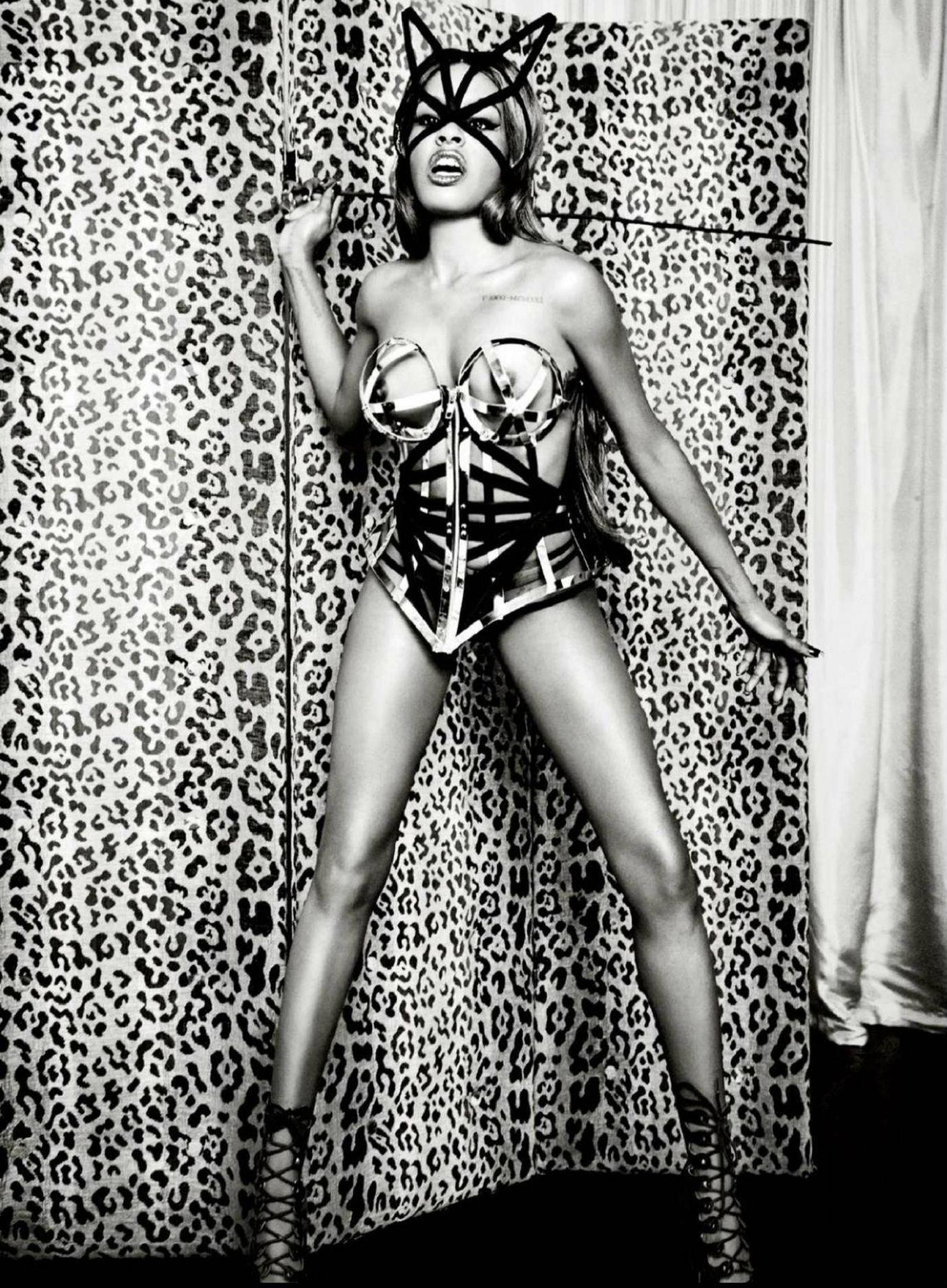 Azealia Banks Full Frontal Nude