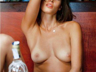 Johanne Landbo Nude Sailing for Playboy