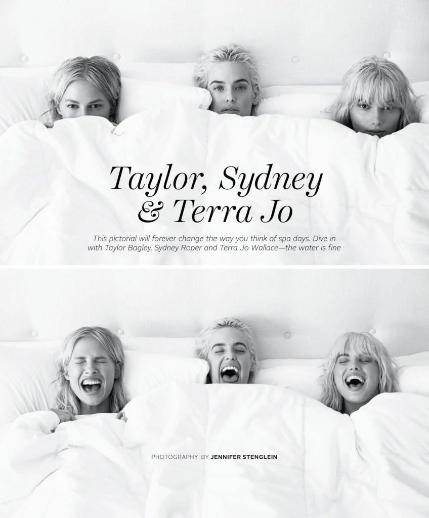 Nude Trio: Terra Jo Wallace, Taylor Bagley and Sydney Roper for Playboy (11 Photos)