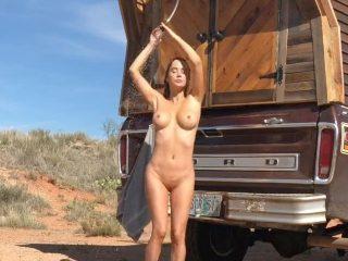 Sara Underwood Leaked Nude Desert Photos and Videos